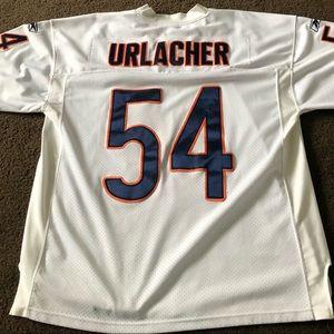 Brian Urlacher White Chicago Bears Jersey